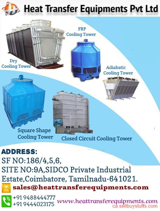 second hand/new: Cooling tower manufacturers in india - heat transfer equipments