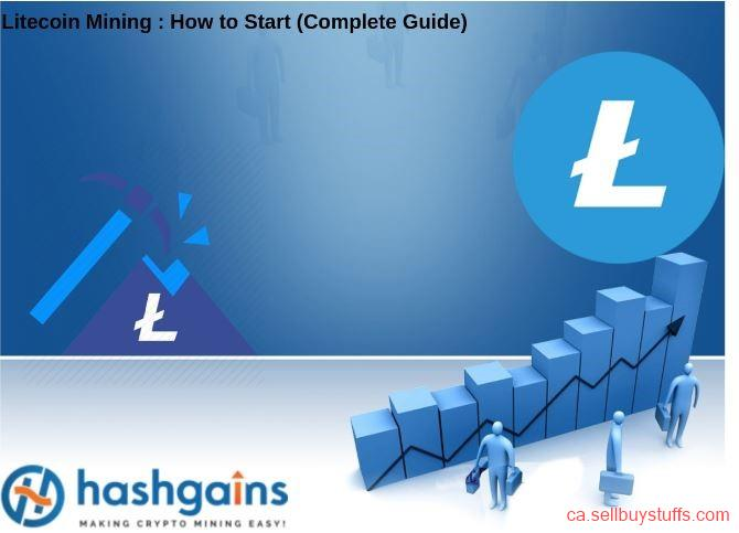 second hand/new: Get The Best Litecoin Mining Service From Hashgains!