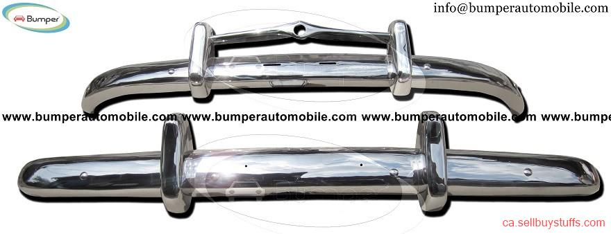 second hand/new: Volvo PV 444 bumper (1947-1958) stainless steel
