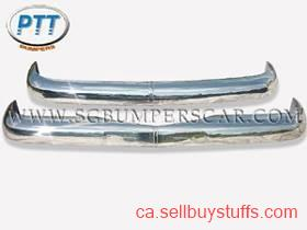 second hand/new: Mercedes W121 Bumper 1959 -1962 in Stainless Steel