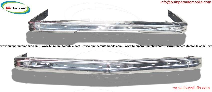 second hand/new: BMW E21 bumper (1975 - 1983) by stainless steel