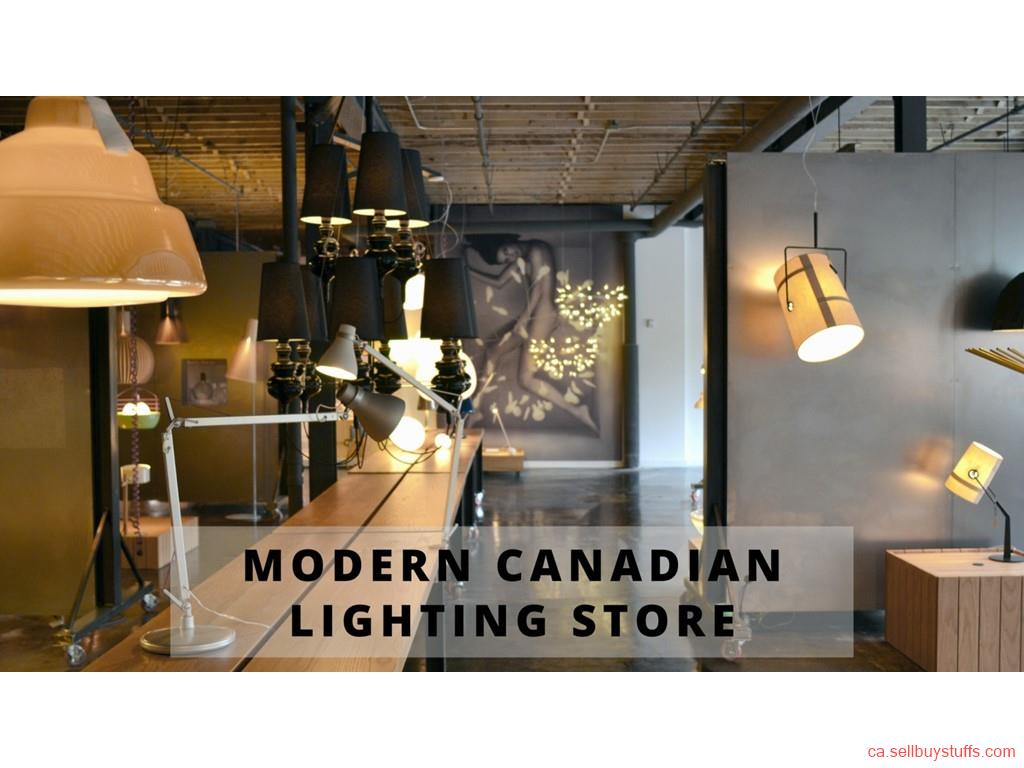 second hand/new: Modern Canadian Lighting Store