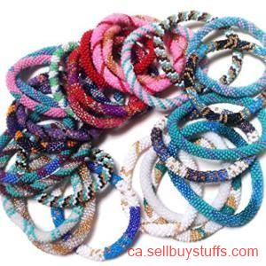 second hand/new: Glass bead bracelets Business Canada