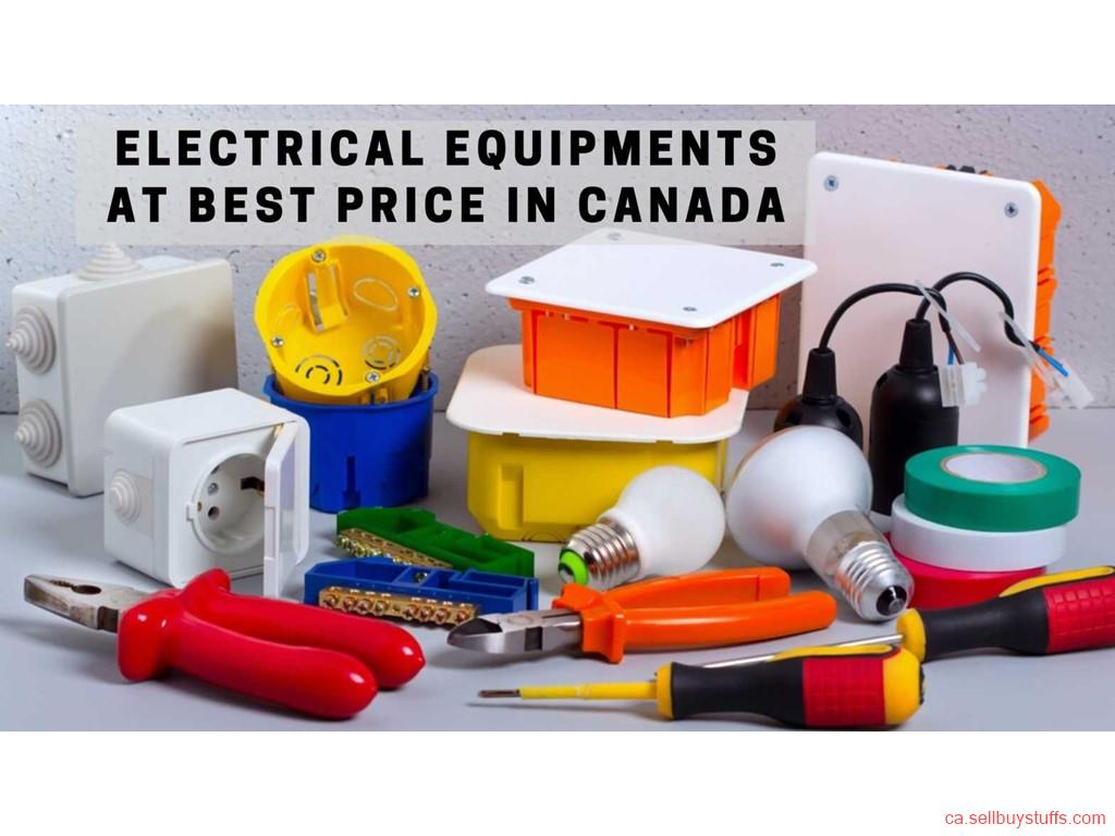 second hand/new: Electrical Equipments at Best Price in Canada
