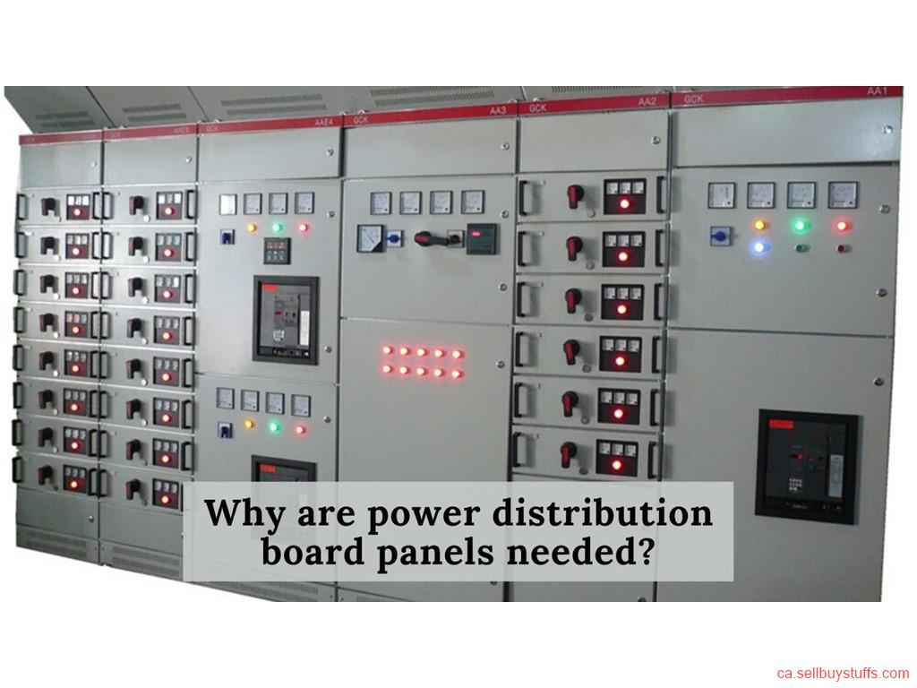 second hand/new: Why are power distribution board panels needed?