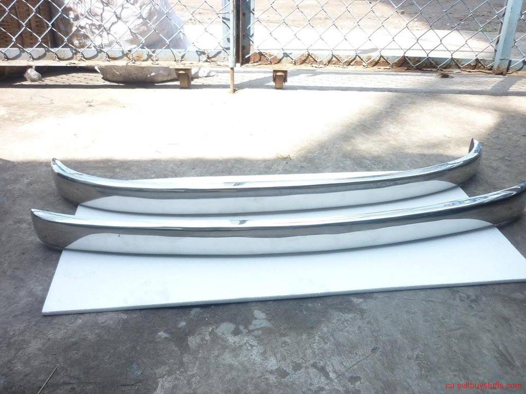 second hand/new: Fiat 500 Bumper in stainless steel