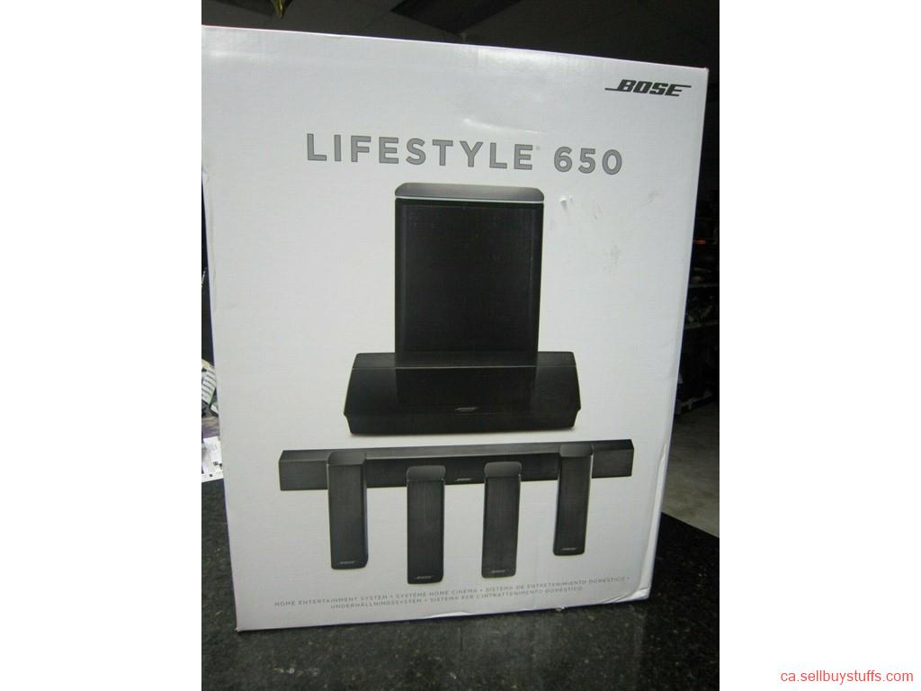 second hand/new: Bose Lifestyle 650 home theater system
