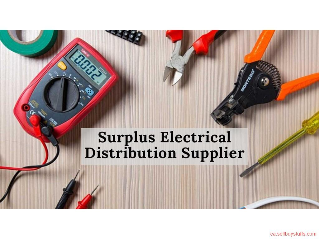 second hand/new: Surplus Electrical Distribution Supplier
