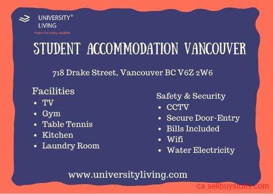 second hand/new: Student Accommodation Vancouver
