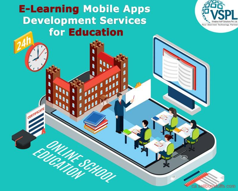 second hand/new: VSPL Provides E-Learning Mobile Apps Development Services for Education