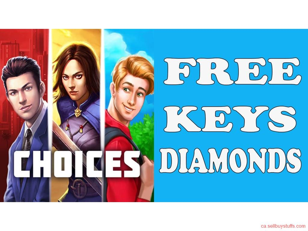 second hand/new: Choices free keys and diamonds