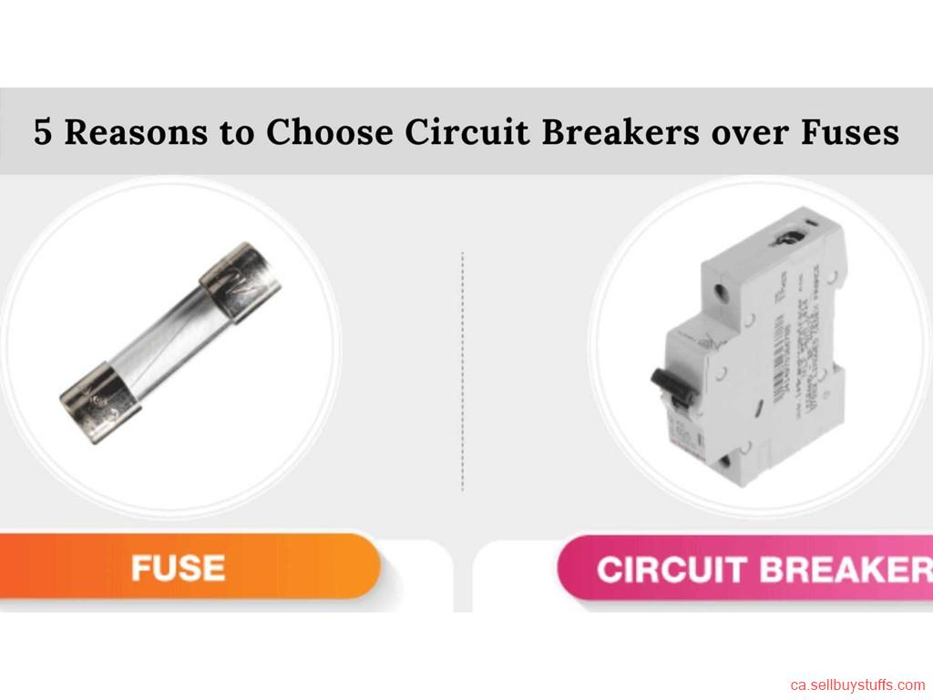 second hand/new: 5 Reasons to Choose Circuit Breakers over Fuses