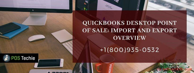 second hand/new: QuickBooks Desktop Point Of Sale Import and Export