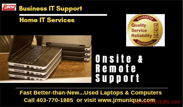 second hand/new: Quick IT Support & Computer Service including Network Maintenance.