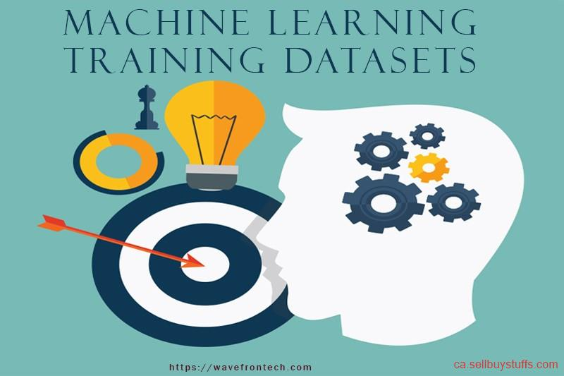 second hand/new: Machine Learning Training Dataset for AI Projects