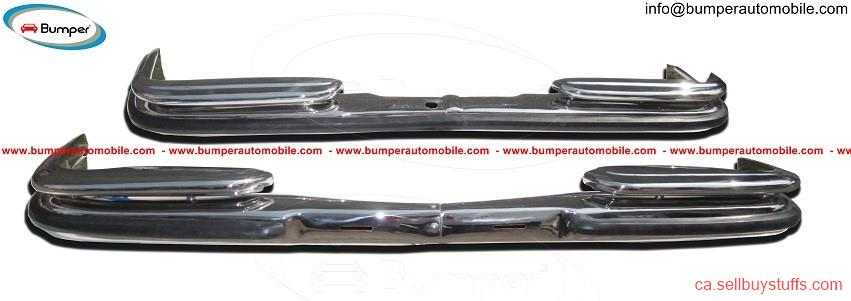 second hand/new: Mercedes Benz W108 & W109 bumper kit (1965-1973) stainless steel
