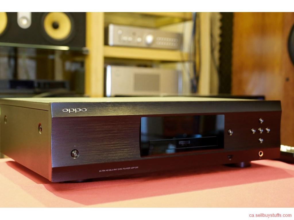 second hand/new: Am selling my  Used OPPO UDP-205 4k Blu-Ray player