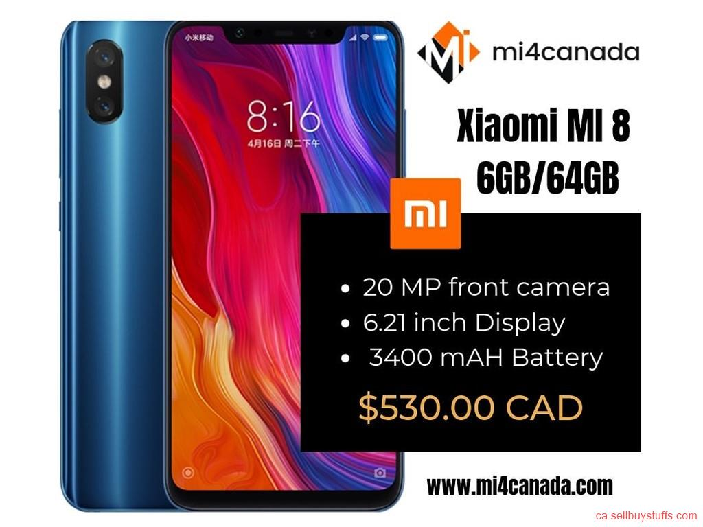 second hand/new: Xiaomi Mi 8 Canada