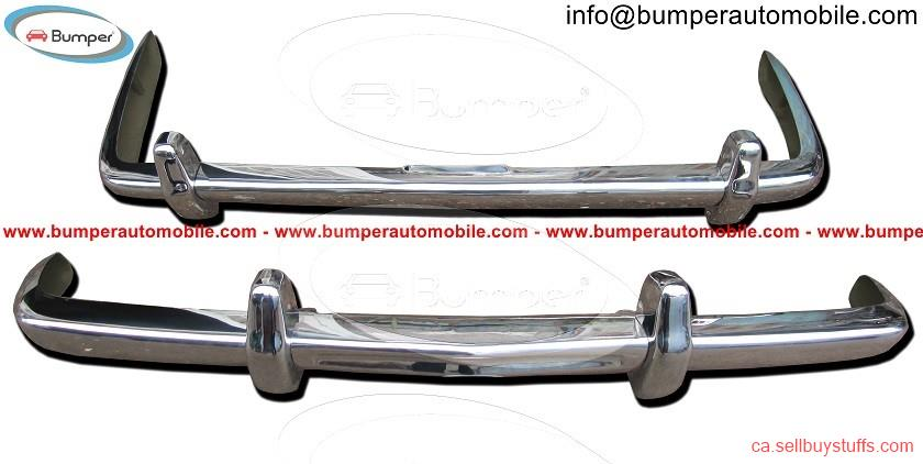 second hand/new: Rolls-royce Bentley S1, S2 year (1955-1962) bumper stainless steel