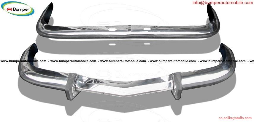 second hand/new: BMW 2800 CS bumper (1968-1975) in stainless steel