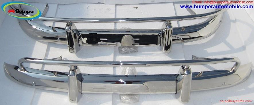 second hand/new: Volvo PV 544 US type bumper (1958-1965) in stainless steel