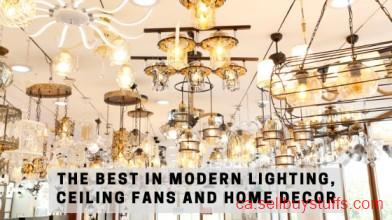 second hand/new: The Best in Modern Lighting, Ceiling Fans And Home Decor
