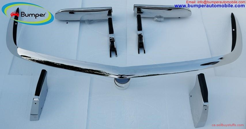 second hand/new: Opel GT bumper (1968–1973) by stainless steel