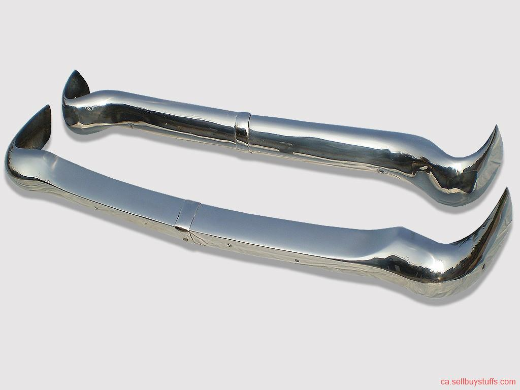 second hand/new: Opel Rekord P1 Bumper 1957 - 1960 in Stainless steel