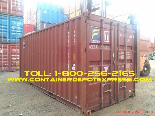 second hand/new: Container Depot Express