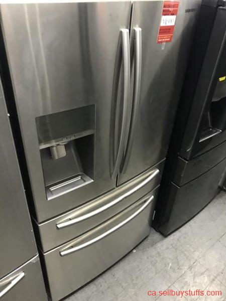 second hand/new: Samsung 4door stainless steel water&ice