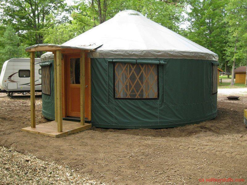 second hand/new: Gently Used Yurt For Sale