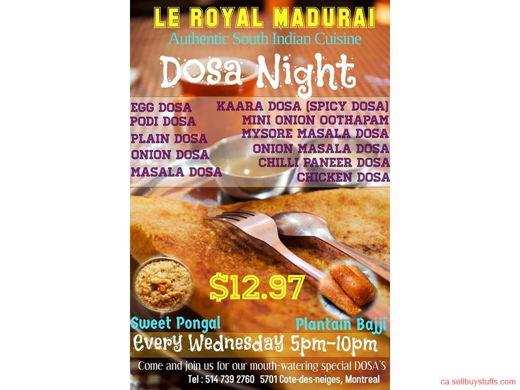 second hand/new: Dosa in Montreal