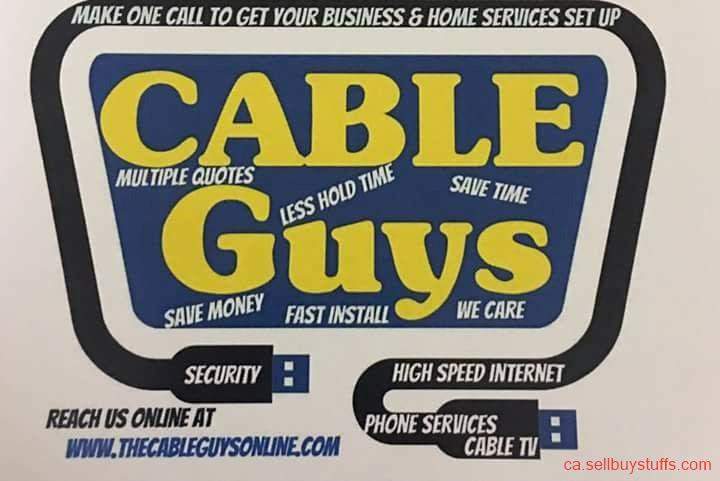 second hand/new: Cable, Internet, Home Phone
